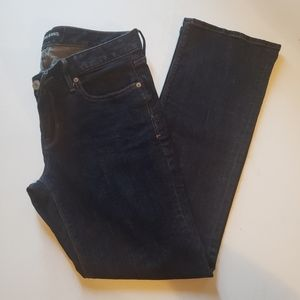 Express Barely Boot Lowrise Jeans Sz 10s
